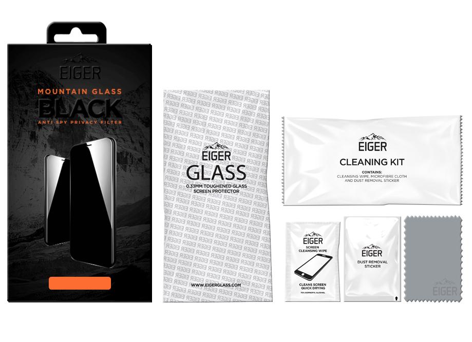 Privacy-Glas Eiger Privacy Glass 2.5D