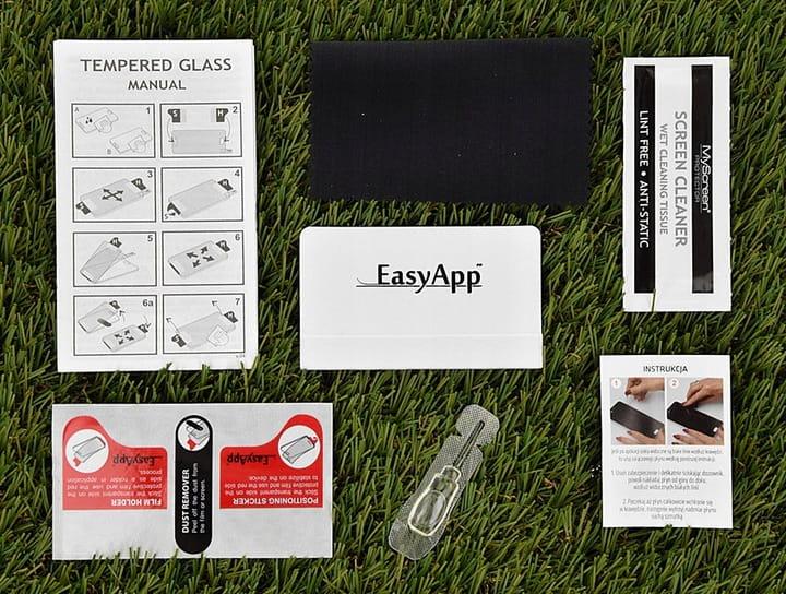 Glas MyScreen Diamond Glass Edge Full Glue Galaxy A52 5G/4G, schwarzer Rahmen
